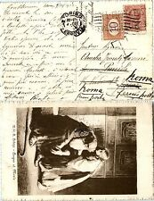 REGNO-10c(82)LEONI tassata 10c(Segnatasse 21)-Cartolina Torino 9.10.1918