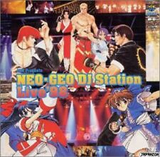 Official Japanese Audio CD SNK NEO GEO Dj Station live 98  AES MVS POCKET