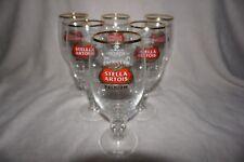 Stella Artois Set Of 6 Six Glasses Beer