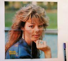 1985 very rare poster Sandra Cretu, Austria