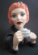Cameo Girls Deluxe Lady Vases Judith 2001 Special Edition Latte Grande 463/1500