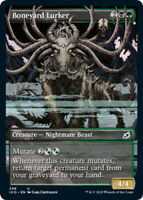 1x Boneyard Lurker - Showcase NM, English MTG Ikoria: Lair Of Behemoths