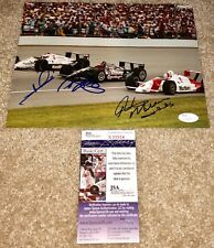 AJ FOYT MARIO ANDRETTI RICK MEARS SIGNED 8X10 PHOTO INDY 500 INDIANAPOLIS JSA