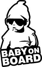 Baby On Board Hoodie Vinyl Decal Sticker for Car/Window/Wall