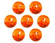 29328. Canicas Dragonball Z, 7 bolas de cristal 22mm con estrellas