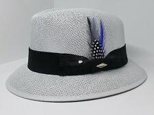 Mens Classic  lowrider center crease hat fedora Derby