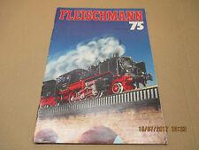 Fleischmann catalogue documentaion brochure collection 1975 avec son tarif