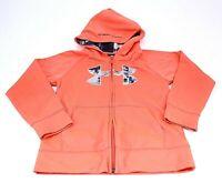 Under Armour Kid's Youth Coldgear Full Zip Up Hoodie Jacket Sweatshirt Size 7