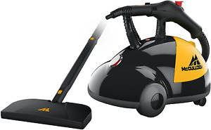 McCulloch MC1275 Heavy-Duty Steam Cleaner with 18 Accessories, Extra-Long Power