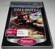 Call of Duty 2 Big Red One PS2 (Platinum) PAL *Complete*