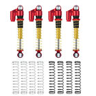 43mm Metal Threaded Tele Shock Absorber Damper for Axial SCX24 1/24 RC Car Parts