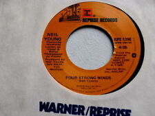 NEIL YOUNG~FOUR STRONG WINDS~NEAR MINT~STORE STOCK~REPRISE~~ POP 45