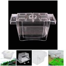 Aquarium Fish Tank Double Breeding Breeder Trap Box Hatchery Net Isolation AU