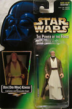 Star Wars POTF1 Ben Obi-Wan Kenobi Lightsaber Removable Cloak Hologram