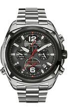 Bulova Precisionist Men's 98B227 Quartz Chronograph Gray Dial Watch