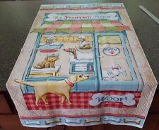 Pampered Pooch Panel 23x42 Steve Haskamp SPX Fabrics Dog Groomer