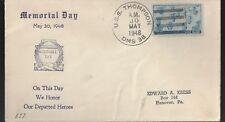 1948 Cover USS USS Thompson DMS 38/DD-627