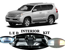 LED for Lexus GX 470 Xenon White LED Interior + Vanity Package Upgrade (16 pcs)