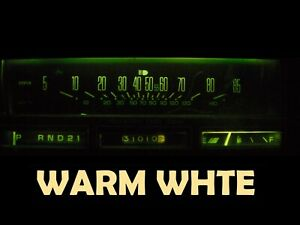 Gauge Cluster LED Dashboard Bulbs Warm White For Oldsmobile 78 88 Olds Cutlass