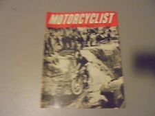 MARCH 1965 MOTORCYCLIST MAGAZINE,GREEVES,ENGLISH TRIALS,BSA 1965,SCOOTERS,