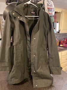 ladies kirkland raincoat large