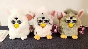 VINTAGE 1998 FURBY LOT OF 3 SUPER CLEAN TIGER ELECTRONICS