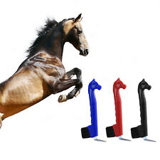 Hoof Pick - Horse Head With Brush Plastic Cow Sheep Horse Stable Cleaning