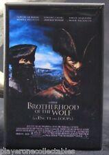 "Brotherhood of the Wolf Movie Poster - 2"" X 3"" Fridge / Locker Magnet."