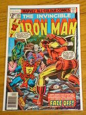 IRONMAN #105 VOL1 MARVEL COMICS JACK OF HEARTS APPS DECEMBER 1977