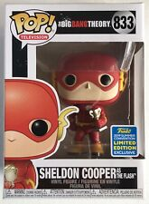 Sheldon Cooper as The Flash #833 The Big Bang Theory Funko Pop Vinyl SDCC 2019