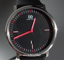 Danish Design * Herrenuhr * Stahl * Lederband * Quarz * Ref. 3314466 *