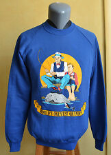 VTG World's Greatest Grandpa Normal Rockwell Inspired Graphic 1980s L Crewneck