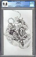 Venom #1 CGC 9.8 Mayhew SKETCH VIRGIN Variant COVER D * ASM #300 HOMAGE Cover