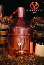 20 Gallon Copper Whiskey Moonshine Liquor Still from Vengeance Stills