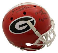 Herschel Walker Autographed Georgia Bulldogs Authentic Helmet 2 Insc BAS 22807