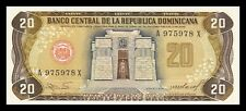 DOMINICAN REPUBLIC 20 PESOS ORO 1985. PICK 120c. SC SC- // UNC - UNC LESS
