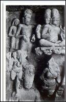 1959 INDIEN Indien Elephanta Cave Reliefs Götter AK PK