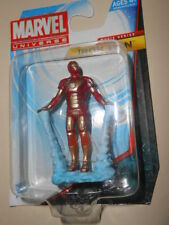 "IRON MAN ( 2"") HTF ( FAMILY DOLLAR ) MARVEL UNIVERSE MOVIE SERIES MARK 42 FIGURE"