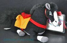 Mulan Khan Black Horse Mini Bean Bag Disney Store Plush Toy with Tag Collectible