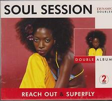 SOUL SESSION - VARIOUS ARTISTS - 2 CD's  - NEW -