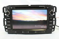 Rosen OEM Navigation GPS Receiver DVD iPod Blutooth Player 2007-2012 Tahoe Chevy