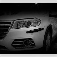 Noir Pare-chocs Corner Guard Protector Kit 4 pièces convient Lexus (CP4B)