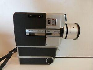 Vintage Retro SANKYO Super 8 Film Recorder Camera CM 300 with Case. Working