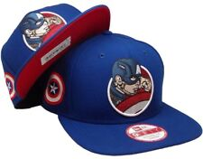 CAPTAIN AMERICA New Era Marvel Civil War RetroFlect 9FIFTY Unisex Snapback Hat