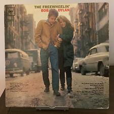 The Freewheelin' Bob Dylan by Bob Dylan 1963 Vinyl Columbia Records 1st Pr Mono