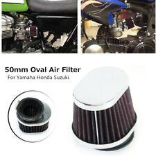 50mm Mushroom Head Air Filter Universal Stainless Steel Motorcycle Accessorie