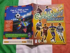 Album Calciatori 2001 2002 panini VUOTO PERFETTO VERSIONE PAGAMENTO