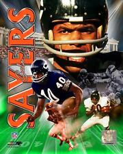 GALE SAYERS ~ 8x10 Color Photo Picture Collage ~ Chicago Bears