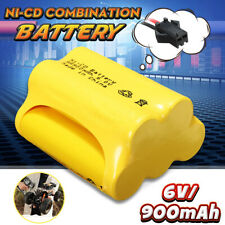 Ni-Cd AA 6V 900mAh Rechargeable Battery Pack SM2P Plug For Toy Remote Car Solar