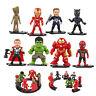 8tlg Set Avenger Iron Man Spiderman Superheld Action Figur Figuren Spielzeug NEU